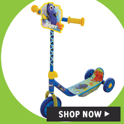 FINDING DORY Childrens My first Tri Scooter