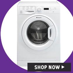 Hotpoint WMBF944PUK 1400rpm Washing Machine in White